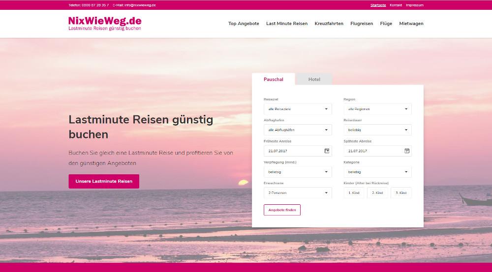 NixWieWeg_Lastminute_Reisen