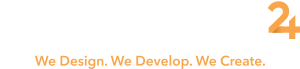 onlinedesign24-logo-slogan-white-mobile